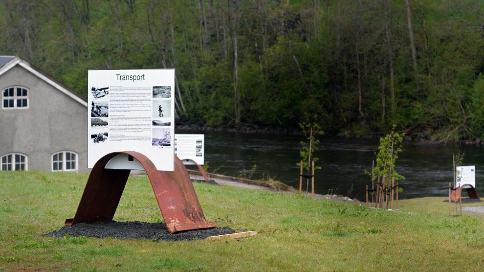 Åpning av Byafossen kulturhistoriske park